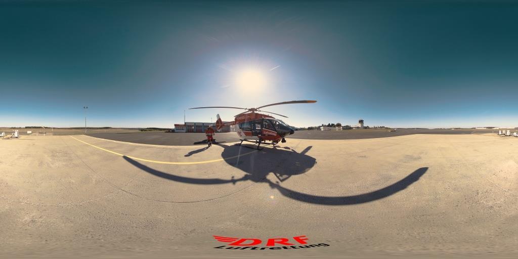 360-Grad-Film DRF Luftrettung