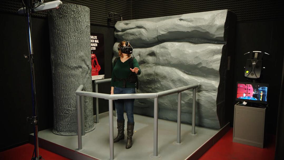 VR-Erlebnis Going up im LEAVR