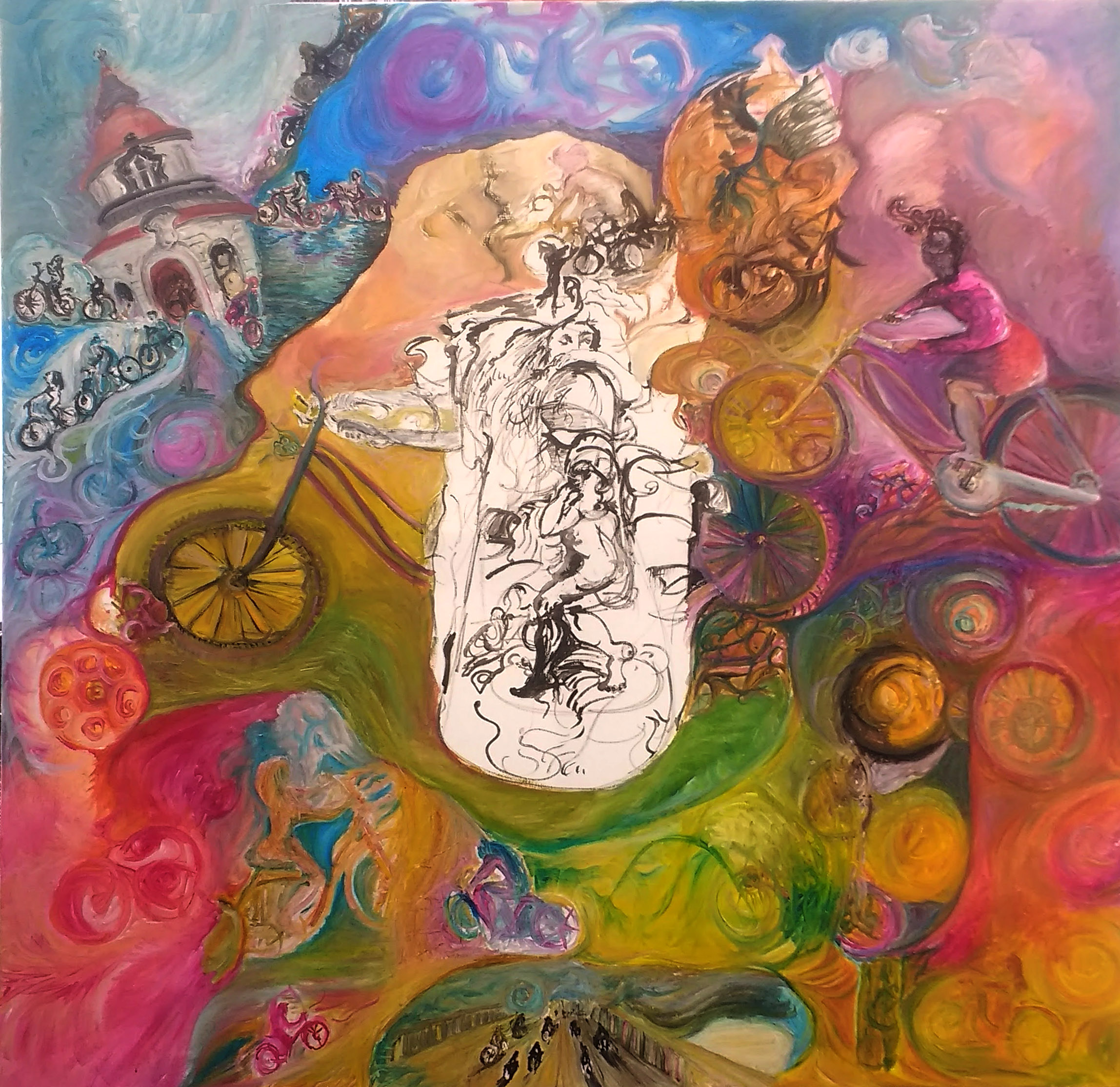 Das ewige Fahrrad Berezovskaia Victoria Oil