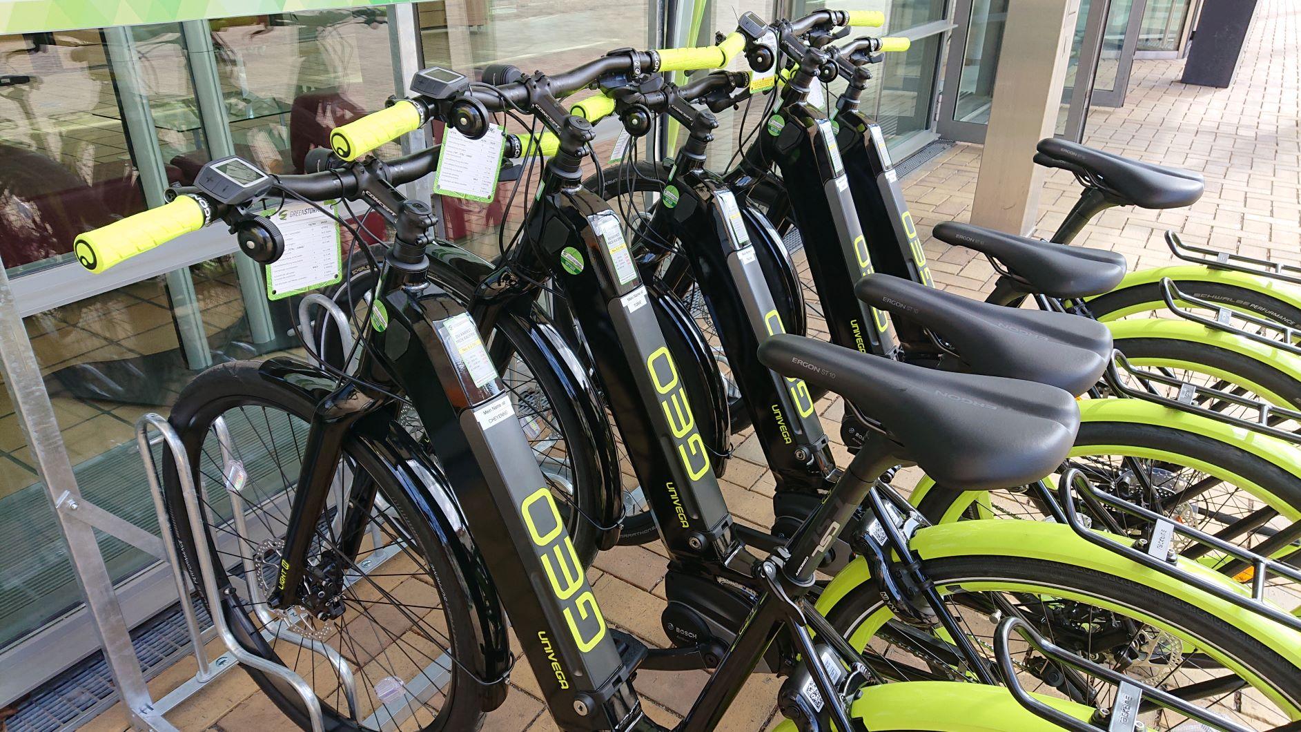 E-Bike-Verleihstation