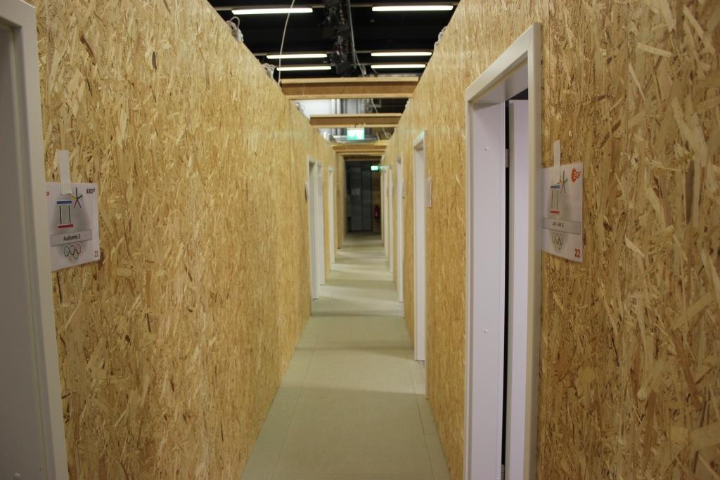 Die Redaktionsräume stehen, jetzt kommt der Innenausbau.